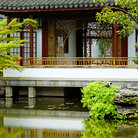 Picture - A building at the Dr. Sun Yat-Sen Classical Chinese Garden in Vancouver.