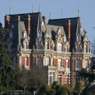 Picture - The Chateau Impney Hotel estate in Droitwich.