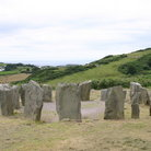 Picture - The Drombeg Stone Circle.