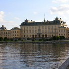 Picture - View of the Drottningholm Palace in Stockholm.
