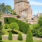 Picture - Exterior of the Drummond Castle and Gardens.