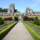 Picture - Path to the Drummond Castle and Gardens.