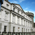 Picture - Façade of the Dublin Castle.
