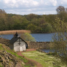 Picture - A boathouse in Duddingston.
