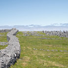 Picture - Stone wall at Dun Aonghasa in the Aran Islands.