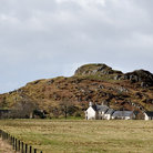 Picture - The hilltop Dunadd Fort.