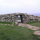 Picture - Stoneworks at the Dunbeg Fort near Dingle.