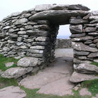 Picture - The stone Dunbeg Fort near Dingle.