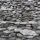 Picture - Detail of the stones of Dunbeg Fort near Dingle.