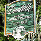 Picture - Dunleith Plantation sign in Natchez.
