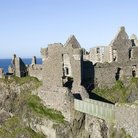 Picture - Dunluce Castle dates back to the 13th Century and is located on the Causeway Coast.