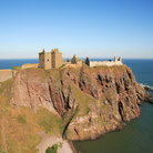 Picture - The Dunnottar Castle on a point at Stonehaven.