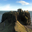 Picture - The approach to Dunnottar Castle at Stonehaven.