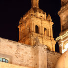 Picture - Tower of the Durango Cathedral.