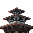 Picture - The top of Trilokya Mohan Narayan temple located in Durbar Sqaure, Kathmandu.
