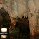 Picture - Stalactites inside the Dyros Caves / Diros Caves.