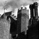 Picture - A tower at Hampton Court Palace.