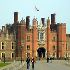 Picture - Hampton Court Palace in East Molesey.