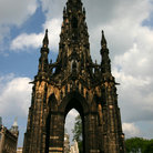 Picture - The Scott Monument in Edinburgh.