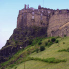 Picture - The hilltop Edinburgh Castle.
