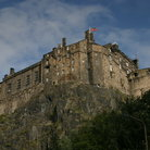 Picture - Walls of the Edinburgh Castle.