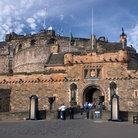Picture - Entrance to the Edinburgh Castle.
