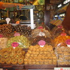 Picture - Delicious Turkish desserts for sale in the Spice Bazaar in Istanbul.