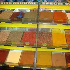 Picture - A selection of spices for sale in the Spice Bazaar in Istanbul.