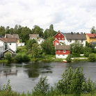 Picture - The village of Eidsvoll.