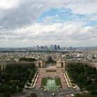 Picture - View from the Eiffel Tower in Paris.