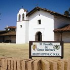 Picture - View of El Presidio de Santa Barbara State Historic Park.