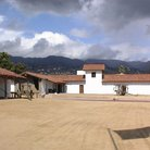 Picture - Courtyard at El Presidio de Santa Barbara State Historic Park.
