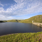 Picture - A lake in the Elan Valley.