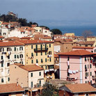 Picture - Village on Elba.