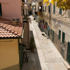 Picture - Street scene on the Island of Elba.