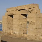 Picture - Temple ruins on Elephantine Island in Aswan.