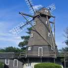 Picture - An old style windmill in Elmhurst.