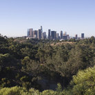 Picture - View of Downtown Los Angeles from Elysian Park.