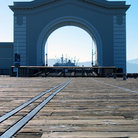Picture - Arch at Embarcadero Pier in San Francisco.