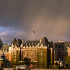 Picture - The Empress hotel in Victoria.