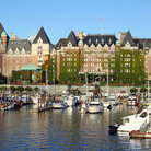 Picture - The grand Empress Hotel on the Victoria Harbour.
