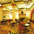 Picture - The elegant interior of the Empress Hotel in Victoria.
