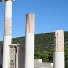 Picture - Pillars at Epidauors.