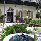 Picture - Hemingway House in Key West.