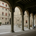 Picture - Courtyard of Castello Estense in Ferrara.