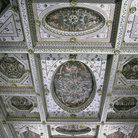 Picture - Detail of the interior of Castello Estense in Rerrara.