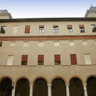 Picture - Exterior of Castello Estense in Ferrara.