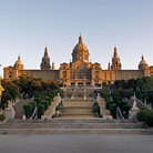 Picture - From the Exhibition grounds at Palau Nacional in Barcelona.