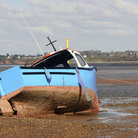 Picture - A fishing Boat in the Bay of Exmouth.