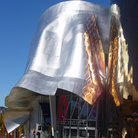 Picture - Exterior of the Experience Music Project in Seattle.